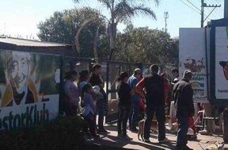 El programa de castración de mascotas se realizó  este sábado en las instalaciones del Néstor Club de la ciudad de Roldán.