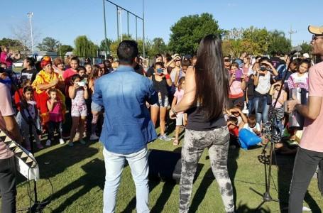 Roldán homenajeó a las mujeres y cerró la Colonia de Vacaciones de Verano