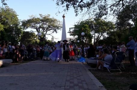 En Roldán se realizó una mateada por la inclusión