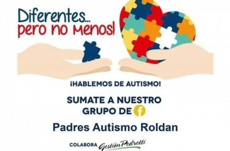 Domingo 2, plaza San Martín de Roldán, actividades de concientización sobre autismo