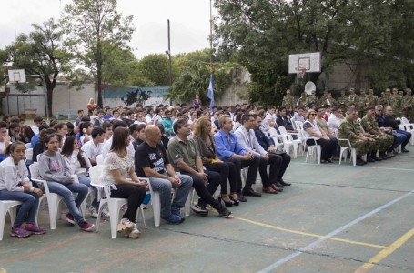 """León Barreto en acto por Malvinas: """"Nunca dejaremos de reclamar nuestra soberanía sobre ellas"""""""