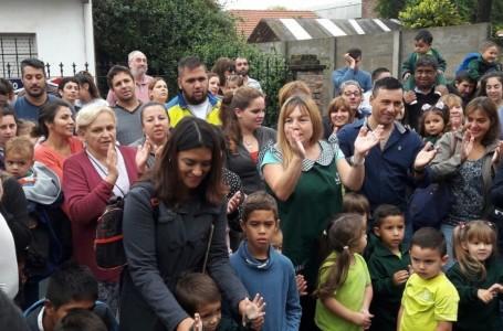Huellitas reabrió sus aulas como Jardín Maternal en Roldán