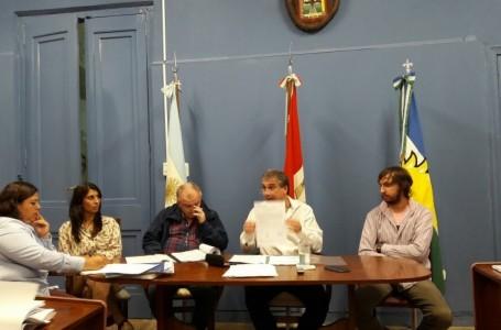 Pedretti concurrió al Concejo para definir la obra de Gas Natural