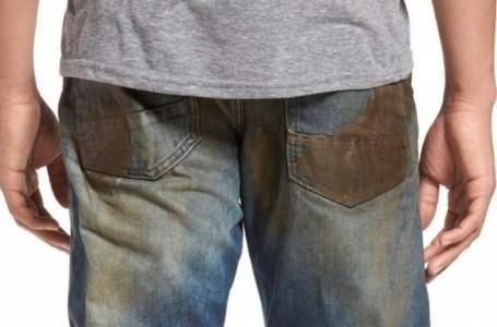 La última moda son los pantalones embarrados