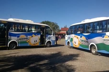 Ultiman detalles para el nuevo recorrido del R1 y R2 del Sistema de Transporte Municipal en Roldán