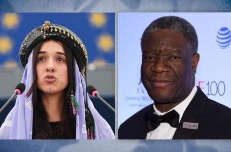 Los Nobel de la Paz Nadia Murad y Denis Mukwege claman contra la impunidad frente a la violencia sexual