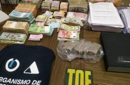 Allanamientos de TOE en Rosario y la región
