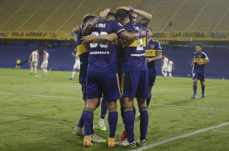 Boca cerró la fase de grupos con un 3-0 SÓLIDO ante Caracas