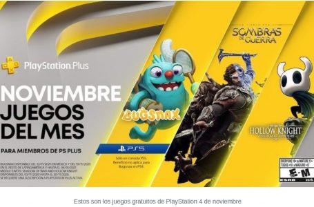 Juegos gratuitos de PlayStation 4 de noviembre