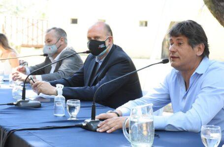 El gobernador Omar Perotti, visitó Funes