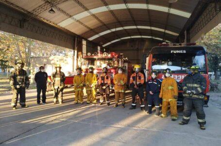 Se abrió la inscripción para aspirantes al Cuerpo Activo de Bomberos Voluntarios Funes