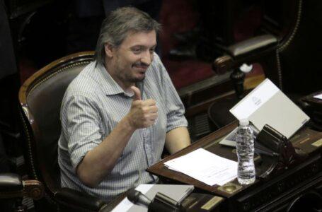 AFIP le dio a Máximo Kirchner una moratoria de ocho años