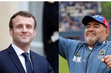 Mensaje del presidente de Francia, Emmanuel Macron, por el fallecimiento de Diego Maradona