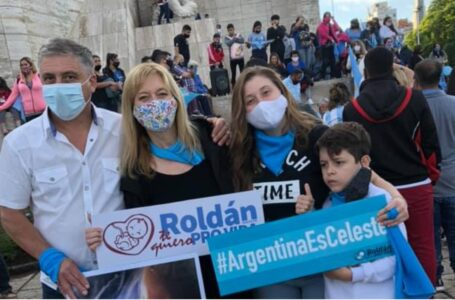 """Roldán, Funes, Rosario y la Región se movilizaron a favor de """"Las Dos Vidas"""""""