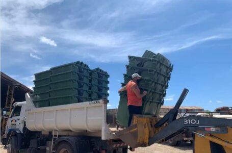Suman 30 nuevos contenedores de basura en Roldán
