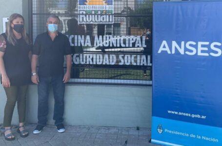 Inaugura una oficina de Seguridad Social que contará con atención semanal de ANSES en Roldán