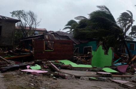 Los destrozos y el impacto de Iota a su paso por el Caribe y Centroamérica