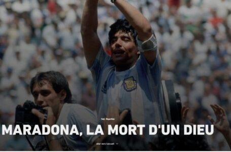 Así reacciona el mundo a la noticia de la muerte de Maradona