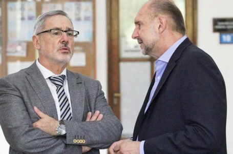 Aislaron al gobernador Omar Perotti porque Marcelo Sain tiene coronavirus