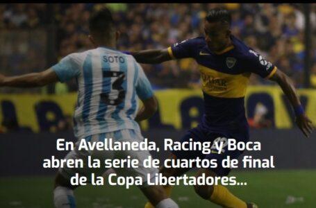 Racing y Boca abren la serie de cuartos de final de la Copa Libertadores: horario y TV