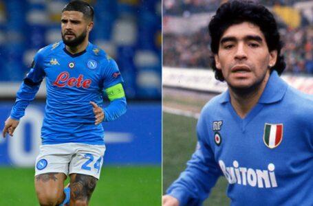 Estadio Maradona: el espectacular tatuaje de Insigne en honor al Diego