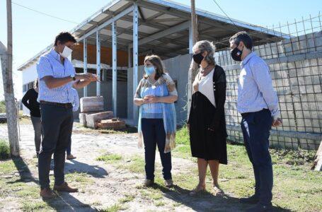 La Ministra de Educación, Adriana Cantero, visitó Funes