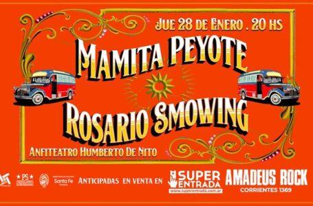 Rosario Smowing & Mamita Peyote