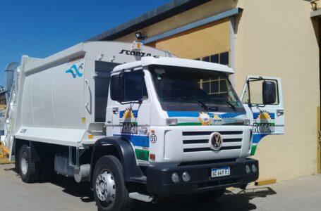 La Municipalidad de Roldán adquirió un nuevo camión compactador