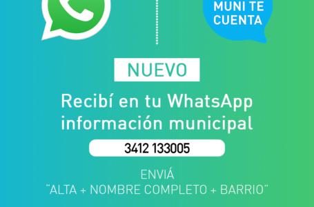Nueva línea comunicacional de la Municipalidad de Roldán