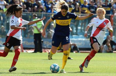 Boca y River definen al primer campeón de la era profesional de Futbol Femenino