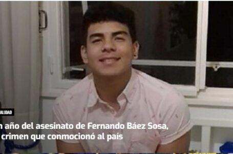 Los padres y amigos de Fernando Báez Sosa lo recuerdan con una colecta solidaria en su homenaje, a un año de su muerte
