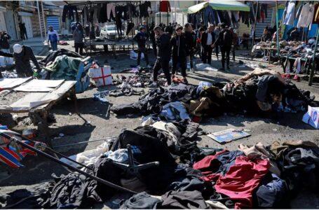 Doble atentado suicida en mercado de Bagdad: 32 muertos y reivindicación del grupo extremista EI