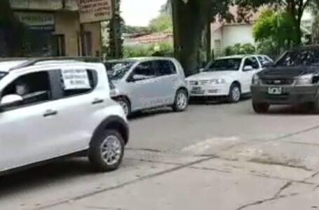 """Se realizó esta tarde en Funes la """"CARAVANA DE AUTOS EN DEFENSA DE LA SALUD PÚBLICA"""""""