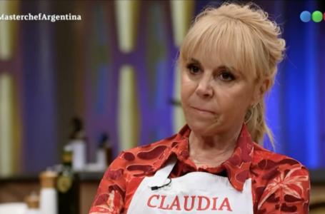 MasterChef Celebrity: el detalle de una foto de Claudia Villafañe que generó polémica