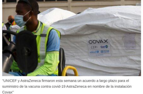 Unicef cerró un acuerdo con AstraZeneca para distribuir vacunas en 85 países