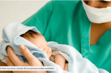 Investigan el caso de un bebé que nació con una altísima carga viral del COVID-19