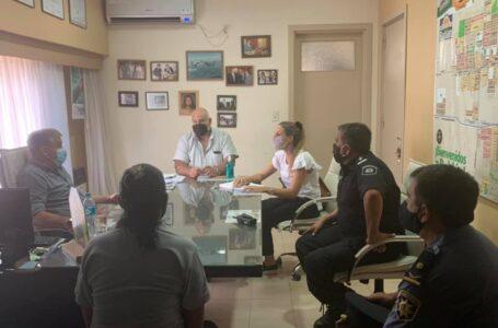 Más Seguridad para Roldán: Pedretti delineó más acciones con funcionarios del Ministerio de Seguridad de Santa Fe