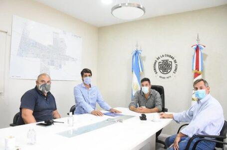 Reunión clave de Protección Civil en Funes