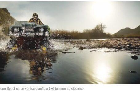 Green Scout, así se llama el vehículo anfibio 100% eléctrico
