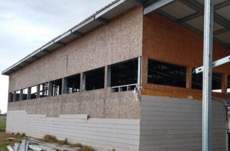 Robó en la construcción del edificio del Jardín Provincial del barrio Villa Elvira
