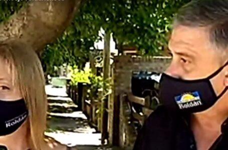 El Intendente de Roldán José María Pedretti y la Presidente del Concejo Susana Abo Hamed aislados por Coronavirus