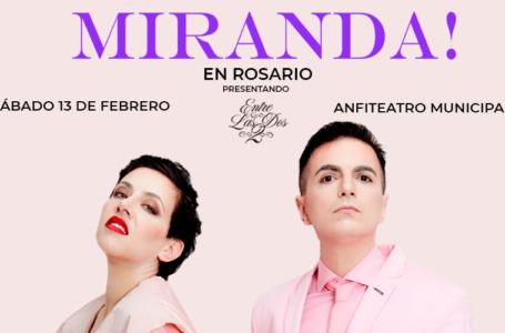 """Miranda presenta """"Entre las dos"""""""