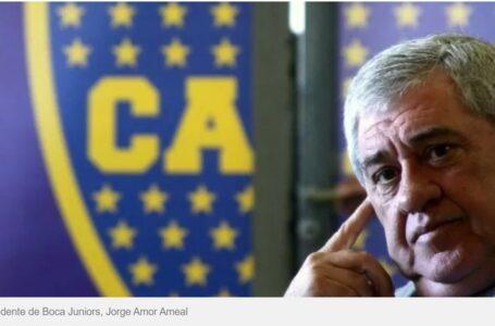 El presidente de Boca, Jorge Amor Ameal, tiene coronavirus