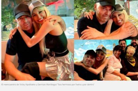 """El reencuentro de Vicky Xipolitakis y Germán Martitegui: """"Sos hermoso por fuera y por dentro"""""""