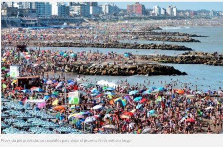 Provincia por provincia: los requisitos para viajar el próximo fin de semana largo