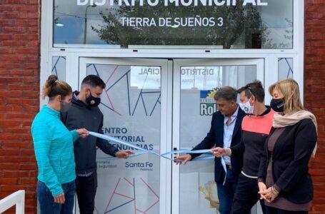 Pedretti presentó el Distrito Municipal de Tierra de Sueños 3 en Roldán