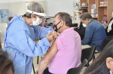 Vacunación contra el COVID 19 en el Centro de Salud Eva Perón