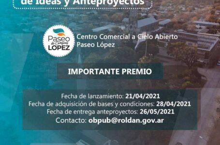 La Municipalidad de Roldán convoca a presentar un proyecto arquitectónico