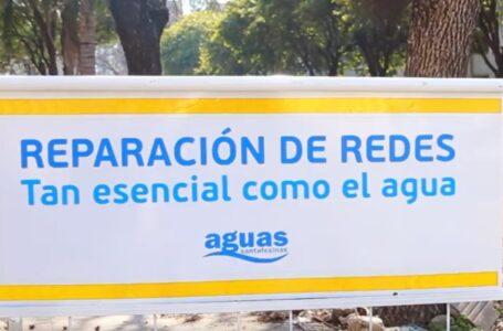Aguas Santafesinas S.A. con Obras de Reparación en Funes