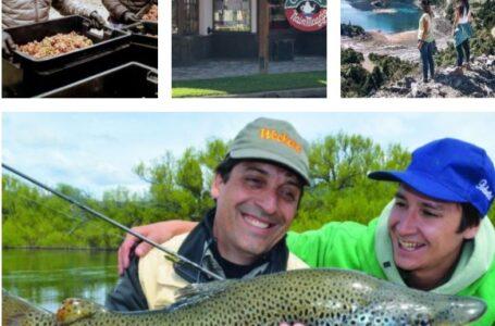 Trevelin extendió su temporada de pesca deportiva y se enlaza con la vendimia